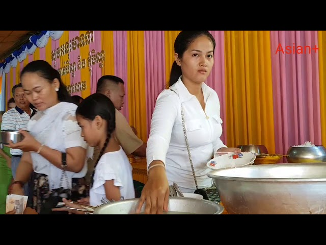 PHCHUM BEN FESTIVAL IN CAMBODIA, VISITING AT WAT OD NA LOM ON 29/09/18, CAMBODIA