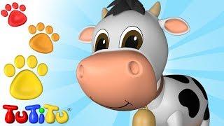 Animal Toys for Children | Cow | TuTiTu Animals