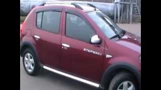 видео Отзыв Renault Sandero Stepway 1.6 (Рено Сандеро) 2011 г. Часть 3