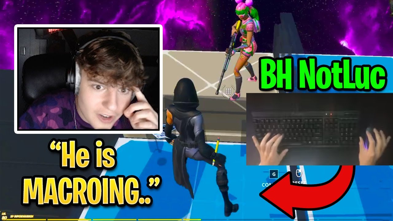 Clix Reacts to BH NotLuc Editing Faster Than Raider464 (Fortnite Season 4)