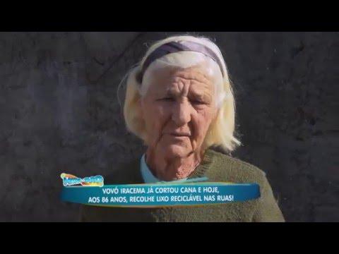 Vovó Iracema Recolhe Lixo Aos 86 Anos