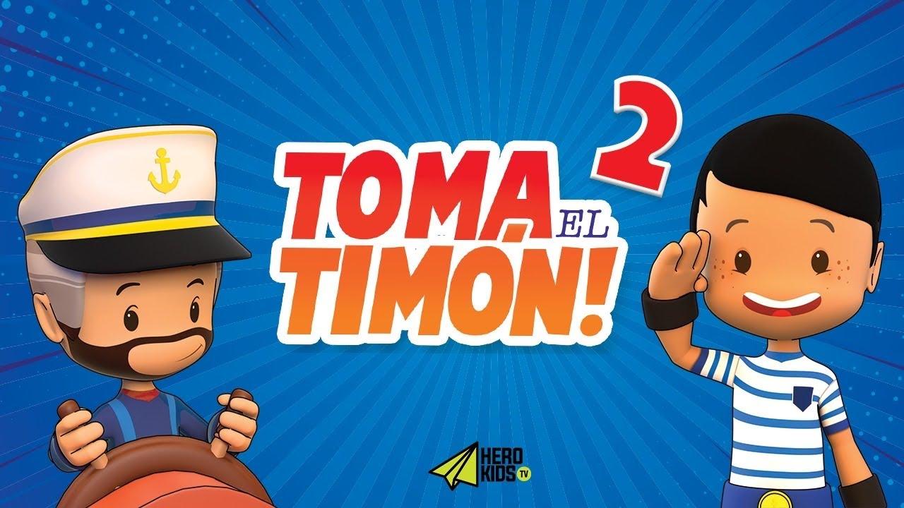 TOMA EL TIMÓN - LIBROS HISTÓRICOS 1| HERO KIDS - Serie exclusiva