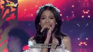 Zephanie Dimaranan Grand Winner of Idol Philippines performs on It's Showtime