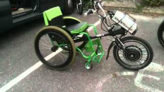 Electric Bike Adaption For Wheel Chair