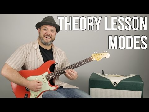 Music Theory Lesson For Guitar – Modes – Mixolydian and Major