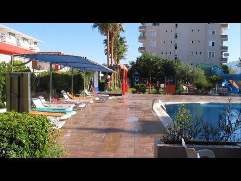 Обзор отеля Happy Beach   Наш отзыв   Бюджетный отель все включено   Турция Алания Конаклы 2019