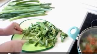 Лук-Порей с рисом на оливковом масле - Вкусный и полезный гарнир. ПП рецепты. Турецкий рецепт.