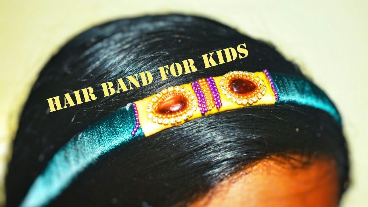 Diy Hair Accessories Organizer At Home Hand Made Hair Band Designs