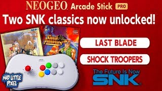 How To Unlock Shock Troopers & The Last Blade On The SNK NEO GEO Arcade Stick Pro!