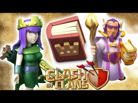 Queen und Warden UPGRADE [Clash of Clans ] DEUTSCH