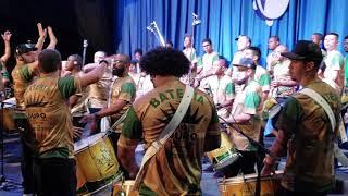 MOCIDADE 2019: gravação da bateria para o CD do Carnaval 2019