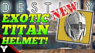 "Destiny: ""NEW EXOTIC TITAN HELMET!"" House of Wolves Eternal Warrior Helmet (House of Wolves Exotics)"