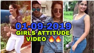 Girls Attitude 🔥🔥 trending tik tok viral videos 🤘🤘🤘