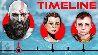 The Complete God Of War Timeline - From Ghost of Sparta to World