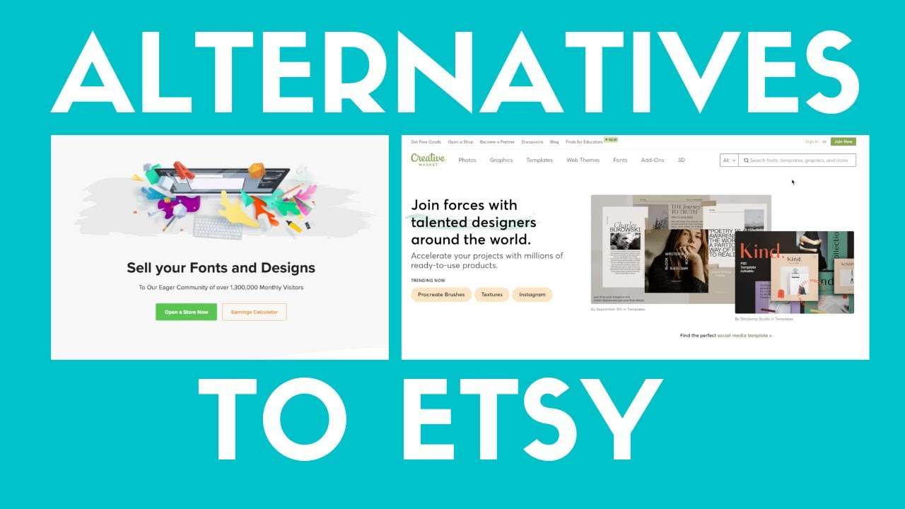 Marketplaces For Selling Digital Products Besides Etsy