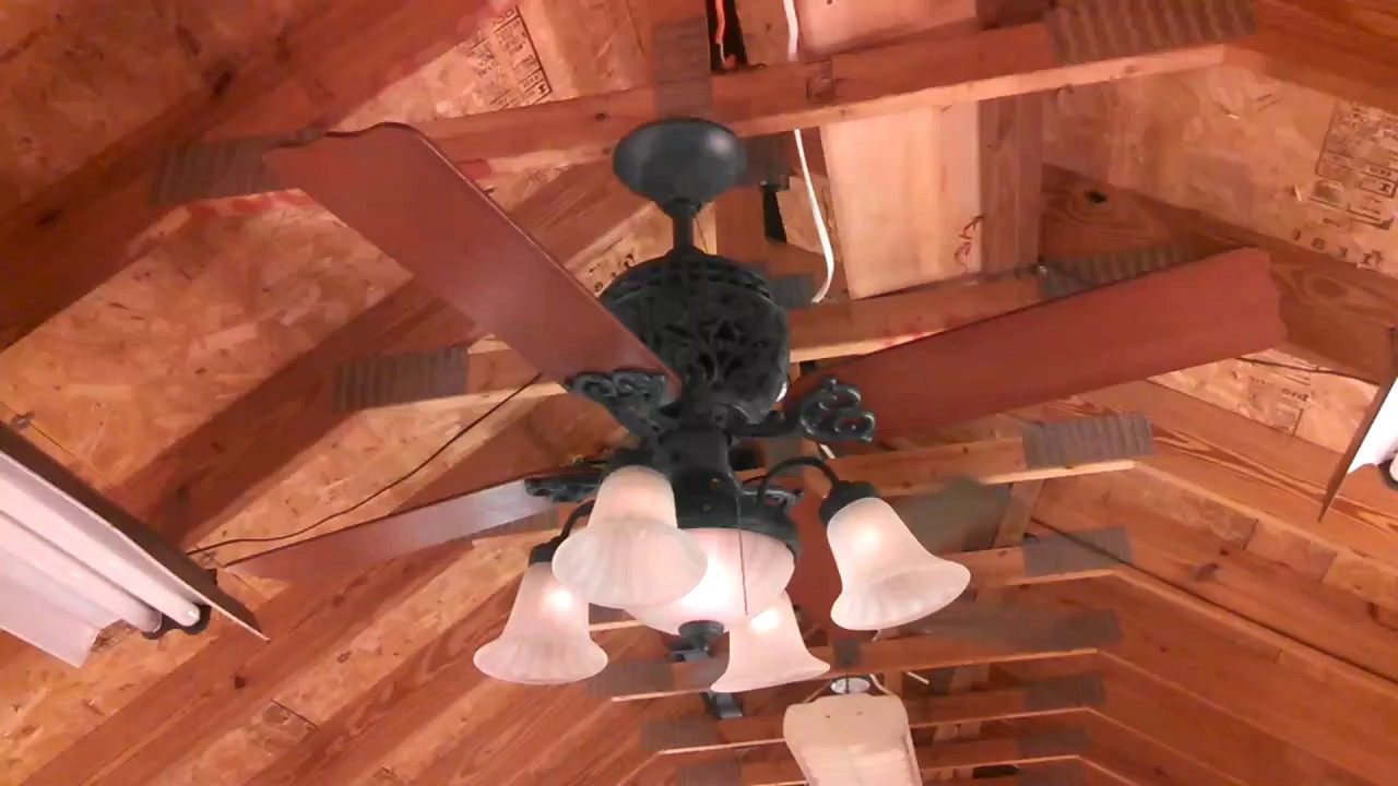 Limited Edition Ceiling Fan With Hunter