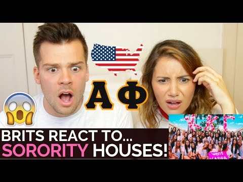 🇬🇧Brits React to Sororities! 🇺🇸