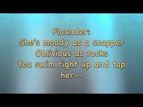 """""""She's In Love"""" The Little Mermaid Karaoke"""