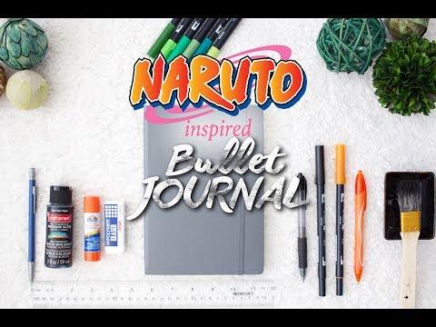 Bullet Journal Naruto-Inspired