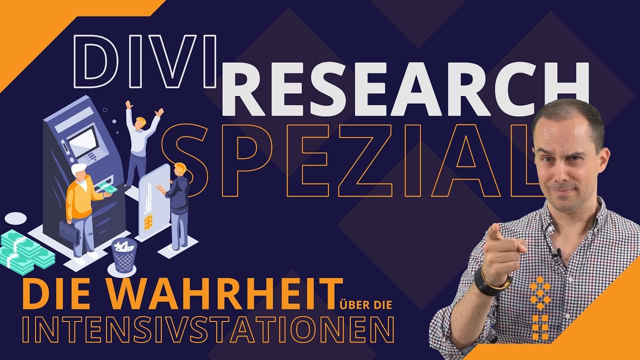 #DIVI #RESEARCH SPEZIAL - Die #Wahrheit über die #Intensivstationen - #ABRECHNUNGSSKANDAL? 3.Welle?