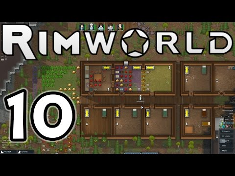 "RimWorld Alpha 8 E10 ""Tribal Raiders!"" (1080p60)"