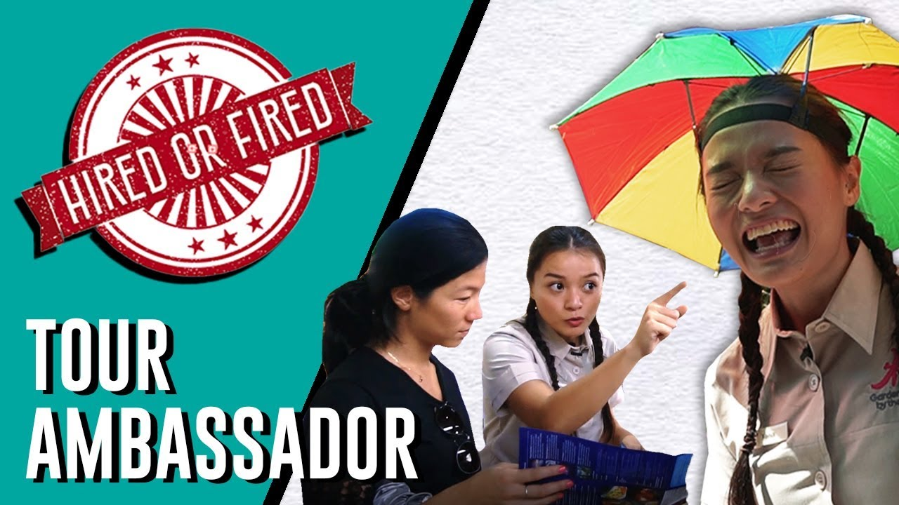 Hired or Fired: Tour Ambassador For A Day