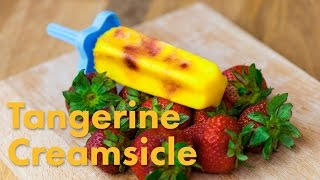 Tangerine Strawberry Superfood Creamsicle