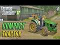 Farming Simulator 2017   COMPACT TRACTOR   The Old Stream Farm   Episode 4