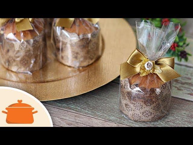 Como Fazer Chocotone e Panetone - Receita fácil