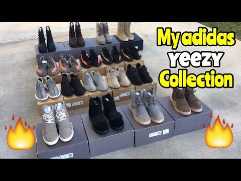 495b6ea527702 ... ireland my entire adidas yeezy collection so far youtube f5841 2c9ea