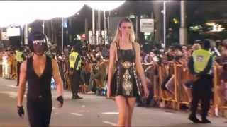 More than 170 models take part in outdoor runway show at Orchard Road