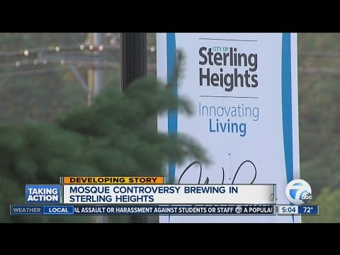Sterling Heights Mosque controversy