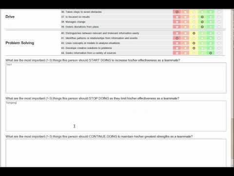 360 Performance Evaluation system