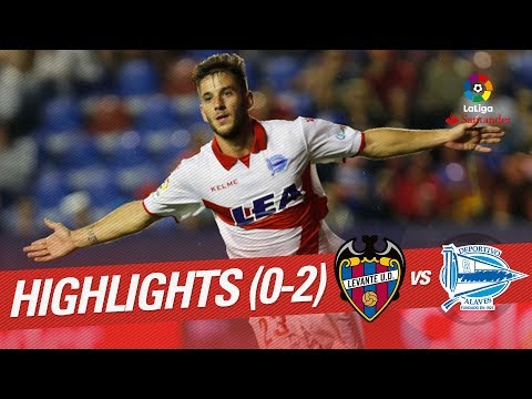 Resumen de Levante UD vs Deportivo Alavés (0-2)