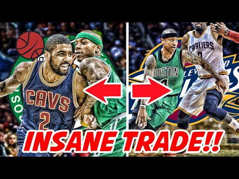 WHAT DOES THE KYRIE IRVING FOR ISAIAH THOMAS TRADE MEAN?!? | NBA NEWS