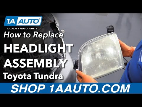 How to Replace Headlight Assembly on a 00-06 Toyota Tundra