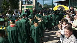 Video footage of University of Oregon graduation events