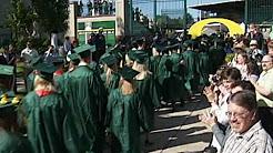 Video footage of University of Oregon graduation events