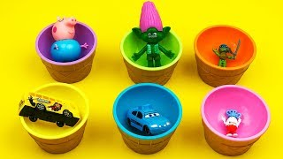 Children Cups Play With Colors Cups Different Children