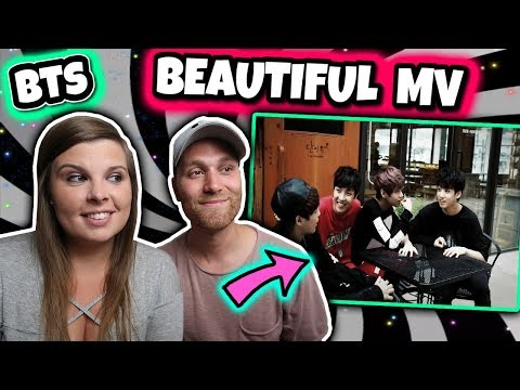 BTS (방탄소년단) Beautiful MV and Lyrics REACTION