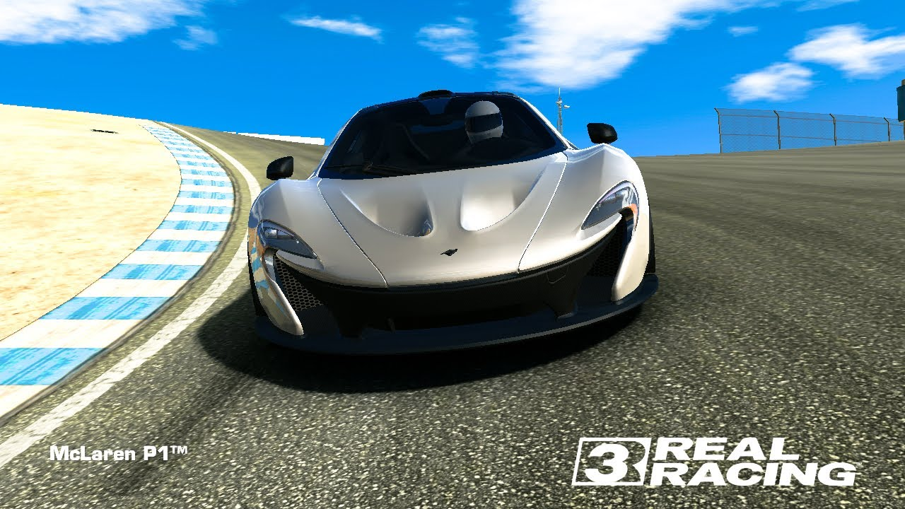 real racing 3 mclaren p1 topspeed 301 km h youtube. Black Bedroom Furniture Sets. Home Design Ideas