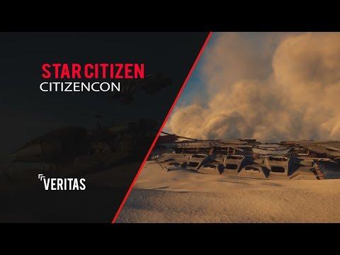 Star Citizen FIRST OPEN WORLD PLANET | VERITAS
