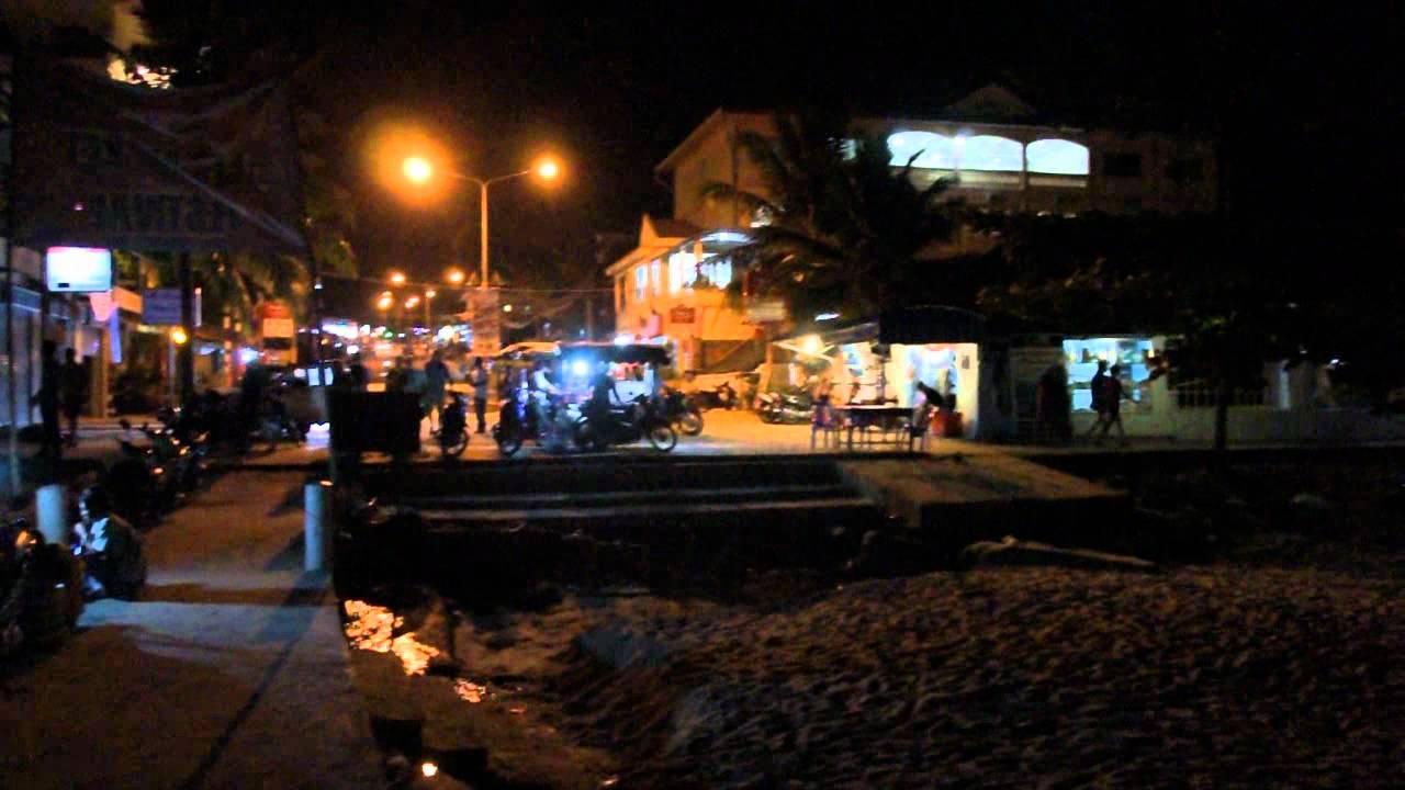 Cambodia: Sihanoukville Nightlife 2012 ក្រុងព្រះសីហនុ