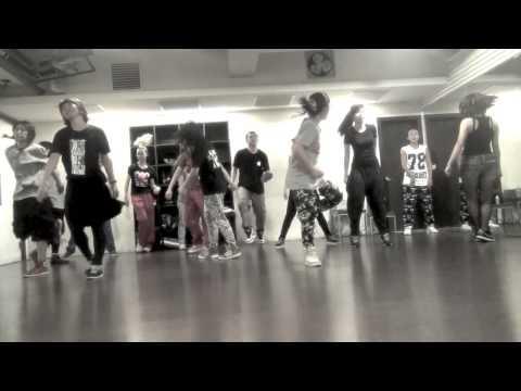 JazzMine Hip Hop Class 20140824 Nu World Hustle  FRESH
