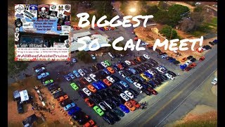 MOPAR MEGA MEET & CRUISE!!(SO MANY HELLCATS) (OVER 100 CARS!)