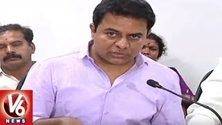 Minister KTR Speech On Master Plan For Warangal City Development | V6 News