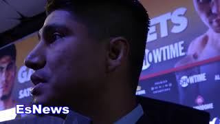 Mikey Garcia asked is linares leaving golden boy after his next fight? EsNews Boxing