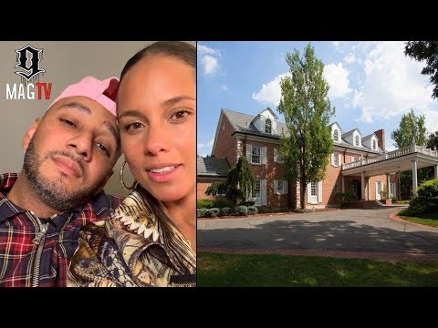 Alicia Keys & Swizz Beatz: Tour Of Their New Jersey Mansion (2018)