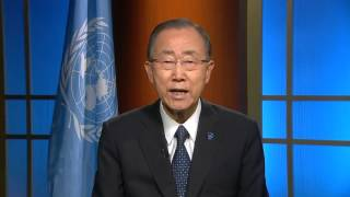 International Day of Peace 2015 - Video message by UN Secretary-General Ban Ki-moon
