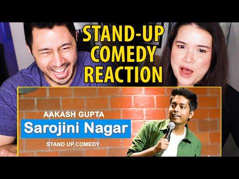 AAKASH GUPTA | Sarojini Nagar | Excuse Me Brother | Stand-Up Comedy Reaction by Jaby Koay & Achara!